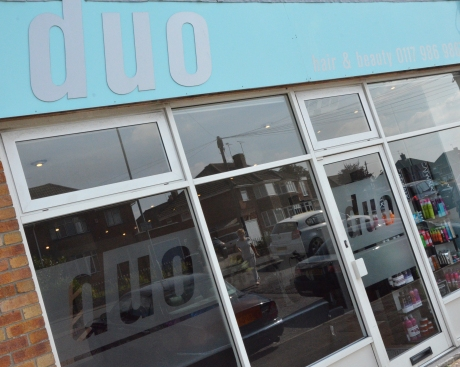 Duo Hair Salon Keynsham - Front of the salon