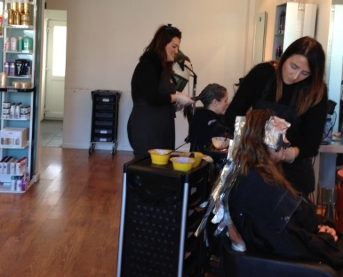Hair colouring keynsham